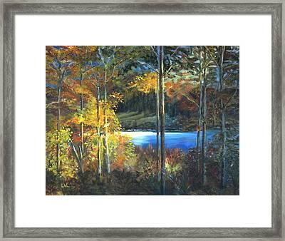 Lac Fortune Gatineau Park Quebec Framed Print