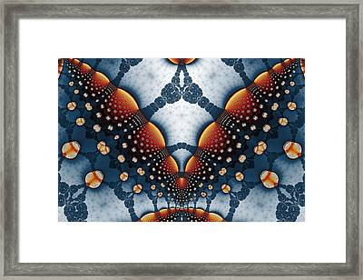 Lace And Lanterns Framed Print by Mark Eggleston