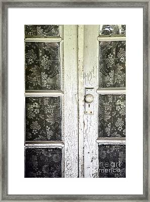 Lace Curtains Framed Print by Margie Hurwich
