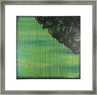 Lace Framed Print by Nia Jacob