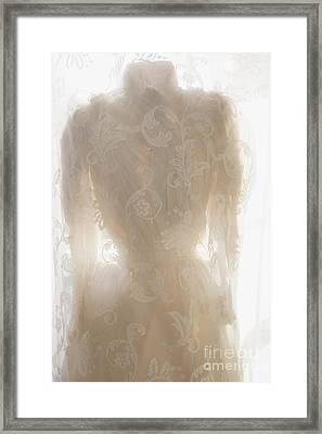 Lace Upon Lace Framed Print