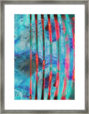 Lacerations Have Wounded  Framed Print