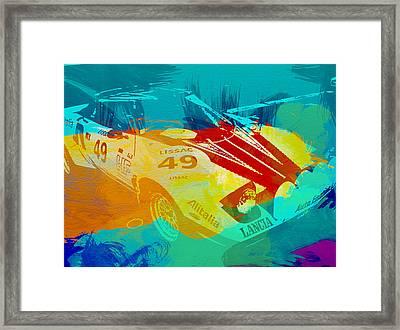 Lacia Stratos Watercolor 1 Framed Print by Naxart Studio