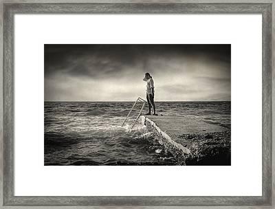 Lack 17.51 Framed Print by Taylan Apukovska