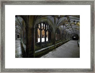 Lacock Abbey Framed Print