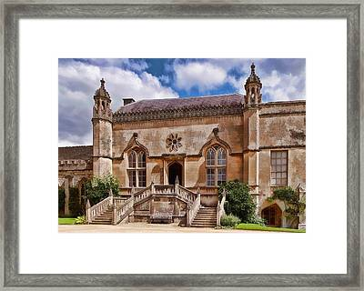 Lacock Abbey - The West Front Framed Print