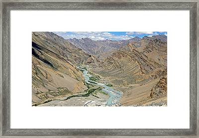 Ladakh Framed Print by Kees Colijn