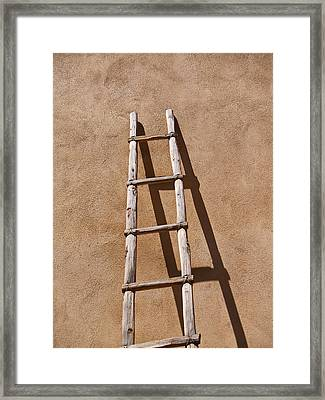 Ladder Framed Print by James Granberry