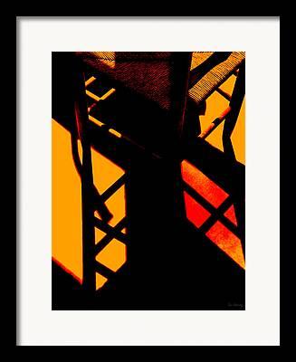 Ladderback Chair Digital Art Framed Prints