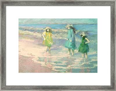 Ladies Day Framed Print