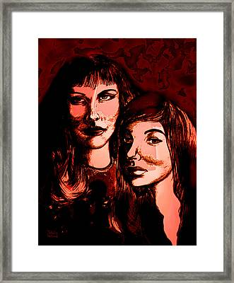 Ladies Night Framed Print by Natalie Holland