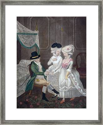 Ladies Of Pleasure, 1781 Framed Print by English School