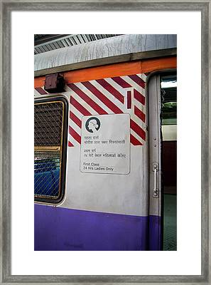Ladies Only Carriage Framed Print by Mark Williamson