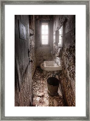Ladies Room Framed Print by Gary Heller