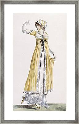 Ladies Russian Style Tunic Framed Print