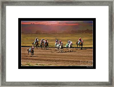 Ladies World Chapionship Ladies Cup Missing One Lady Framed Print by Blake Richards