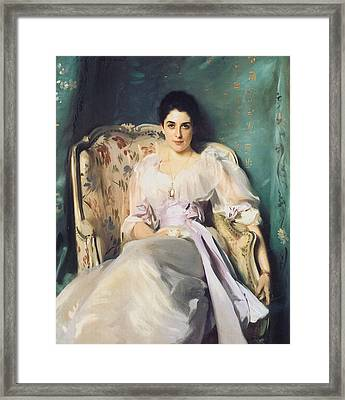 Lady Agnew Of Lochnaw Framed Print by John Singer Sargent