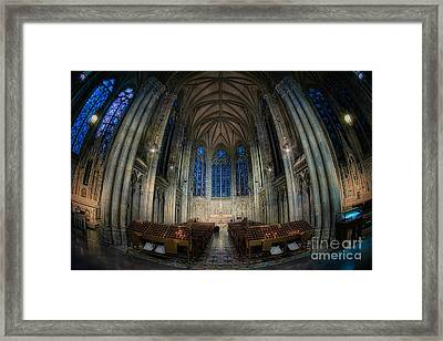 Lady Chapel At St Patrick's Catheral Framed Print by Jerry Fornarotto