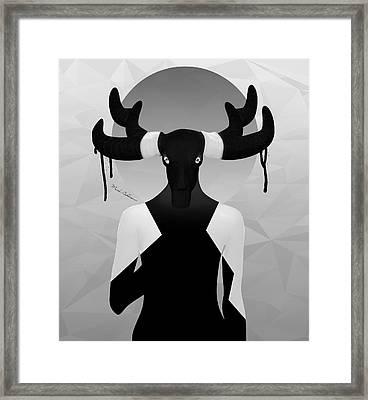 Lady D 3 Framed Print by Mark Ashkenazi