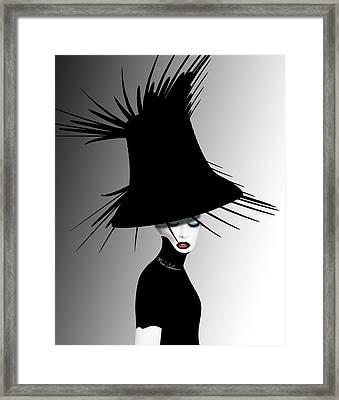 Lady D 4 Framed Print by Mark Ashkenazi
