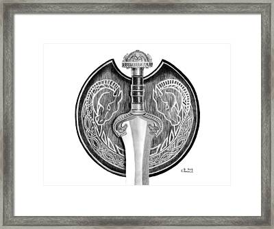Lady Eowyn's Sword Framed Print