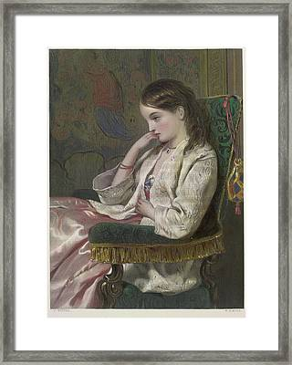 Lady Flora Framed Print by British Library