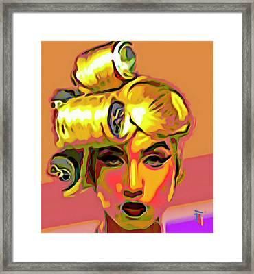 Lady Gaga Framed Print by  Fli Art