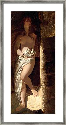 Lady Godiva  Framed Print by Edward Henry Corbould