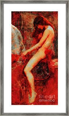 Lady Godiva Revisited 20140315 Long Framed Print