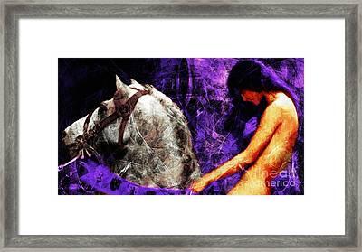 Lady Godiva Revisited 20140315v2c3 Horizontal Long Framed Print
