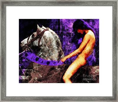 Lady Godiva Revisited 20140315v2c3 Horizontal Framed Print