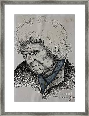 Lady Framed Print by Grant Mansel-James