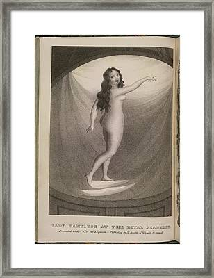 Lady Hamilton Framed Print by British Library