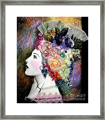 Lady Jane Framed Print