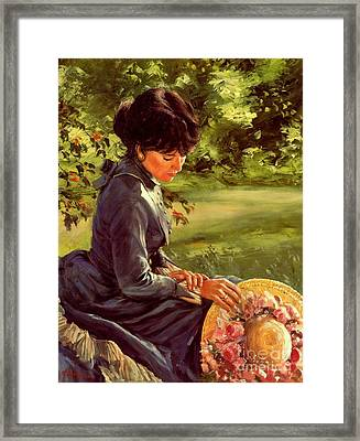 Lady Katherine Framed Print by Michael Swanson