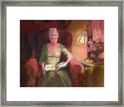 Lady Laura Framed Print