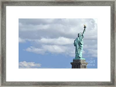 Lady Liberty   1 Framed Print by Allen Beatty