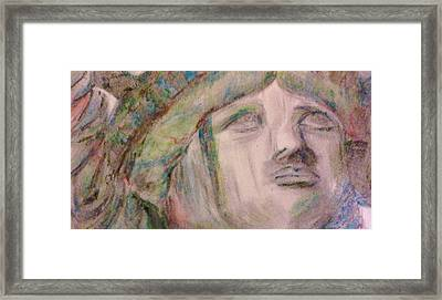 Lady Liberty Framed Print by Christy Saunders Church