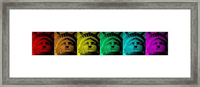 Lady Liberty For All Framed Print