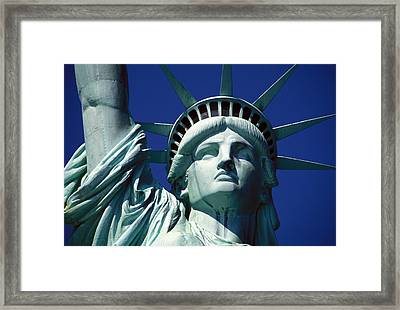 Lady Liberty Framed Print by Jon Neidert