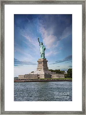 Lady Liberty Framed Print by Juli Scalzi