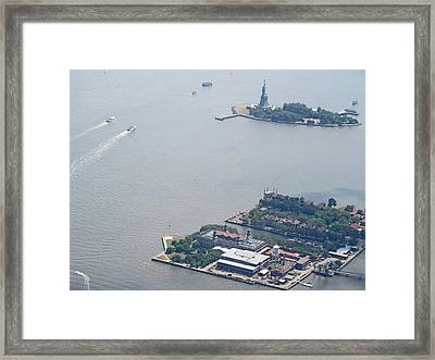 Lady Liberty Framed Print by Larry Marano