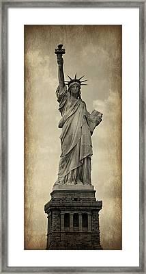 Lady Liberty No 11 Framed Print
