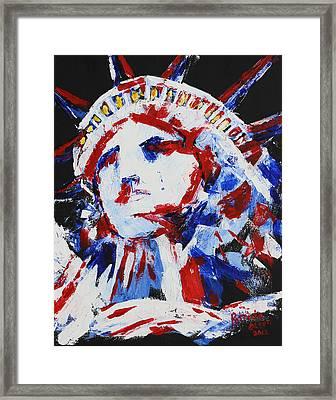 Lady Liberty  Framed Print by Patricia Olson