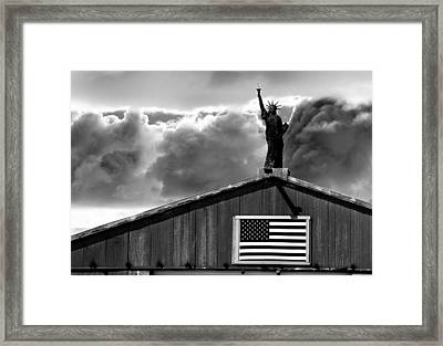 Lady Liberty Framed Print by Ron White