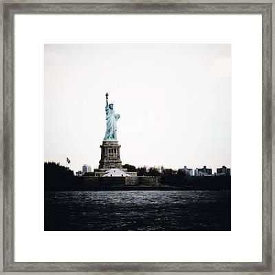 Lady Libery Framed Print by Natasha Marco