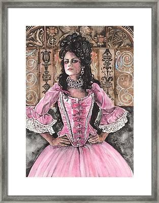 Lady Lorraine Framed Print