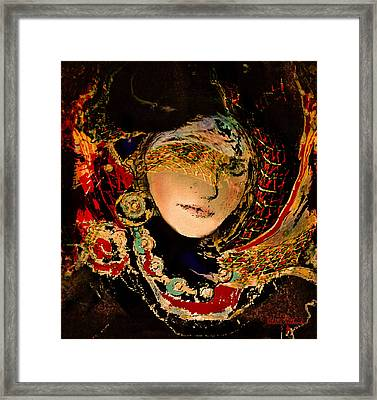 Lady Luxe Framed Print by Natalie Holland