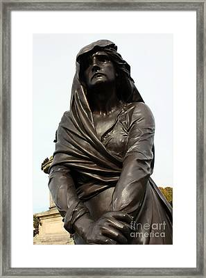 Lady Macbeth In Stratford Out Damned Spot  Framed Print by Terri Waters