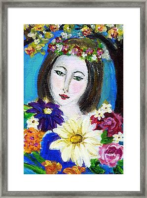 Lady Of Spring Framed Print